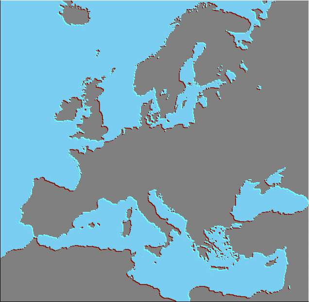 europe-blank-map